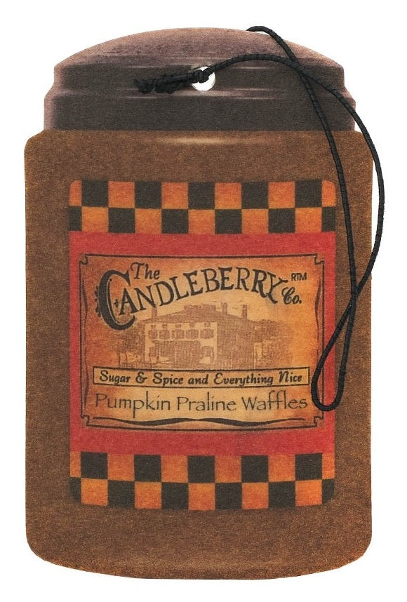 The Candleberry Company Pumpkin Praline Waffles Fresh CarGo - 44019