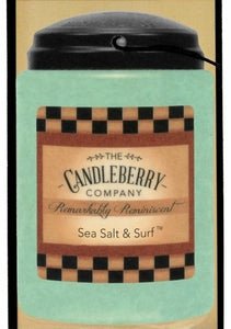 The Candleberry Company Sea Salt & Surf CarGo - 44026