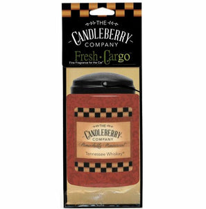 Tennessee Whiskey Fresh Car Go Air Freshner - 44050