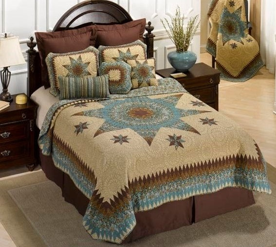 Donna Sharp Sea Breeze Star Quilt - 50006