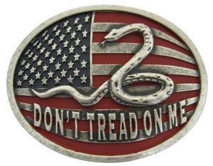 AndWest Don't Tread On Me Belt Buckle - 606
