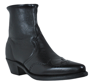 Abilene Wingtip Zipper Boot - 6444