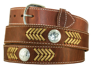 Gingerich Waxed Arrowlaced Belt - 8265