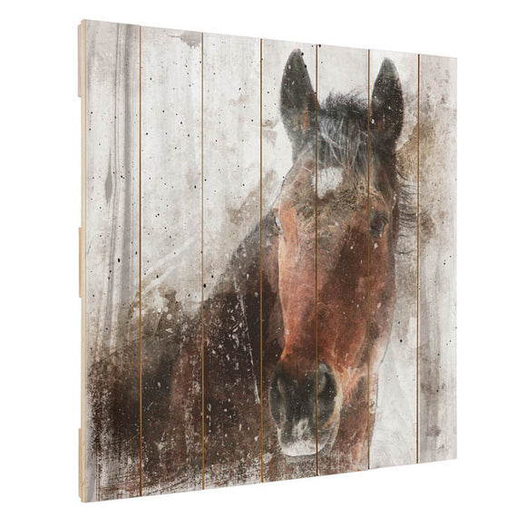 The Horse Pallet Wall Decor - 87603