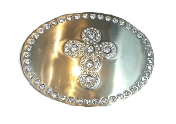 Crystal Cross Buckle - A1875