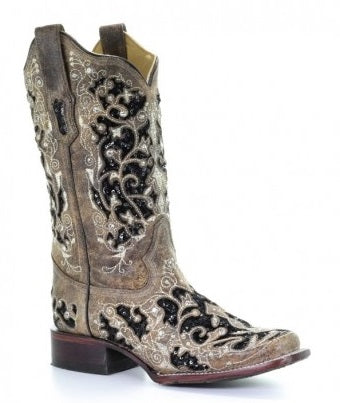 Corral Glitter Boots - A3648