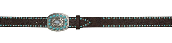 Angel Ranch Turquoise Fashion Belt - A3734