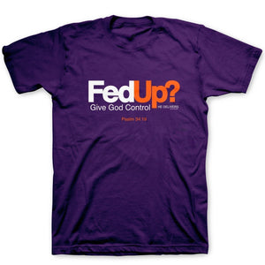 Kerusso Fed Up Graphic Tee - APT2807