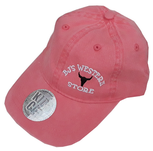 BJ's Western Youth Cap - Coral