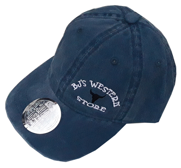BJ's Western Youth Cap - Denim
