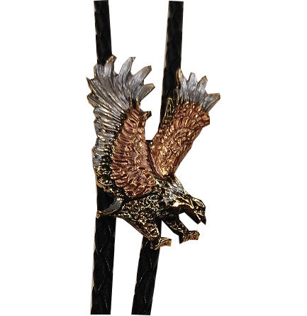 Flying Eagle Bolo Tie