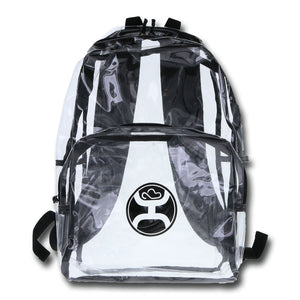 "Hooey ""Nitro"" Clear Backpack - BP025BK"