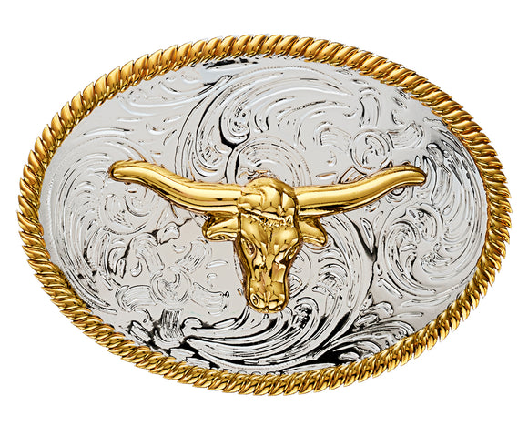 Kids Longhorn Buckle - DBK197