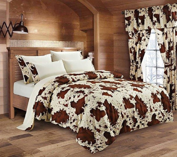 Regal Comfort® Rodeo Curtain Set - DCUR1018