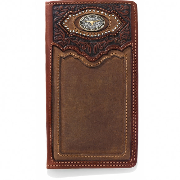 Silver Creek Cattle Driven Checkbook Wallet - E80439