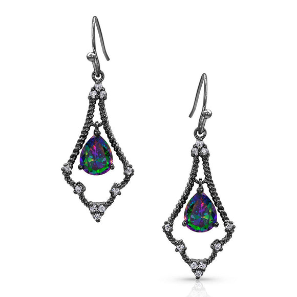 Montana Silversmiths Northern Lights Kite Constellation Earrings - ER4140