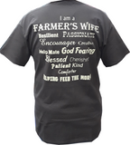 BJ's Western Store Exclusive Farmer's Wife Graphic Tee