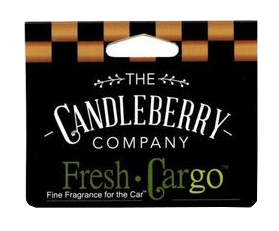 Variety Pack of Candleberry Candles Fresh CarGo Air Freshners