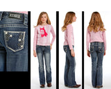 Rock and Roll Cowgirl Boot Cut jeans    G5-3514
