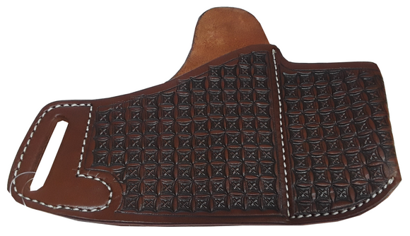 Leather Holster with Magazine Caddy GCOV-171A