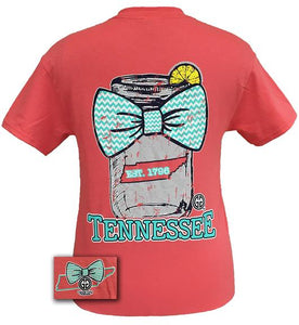 Girlie Girl Youth Tennessee Mason Jar Tee GS-TNMJ0200