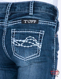 Cowgirl Tuff Girls Edgy Jeans - GJEDGY