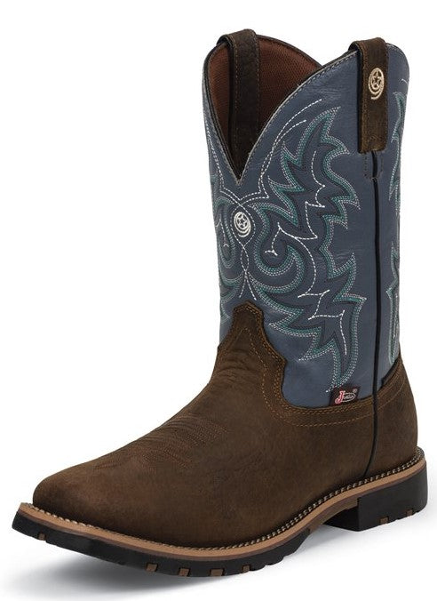 Justin George Strait Waterproof Boots - GS9052