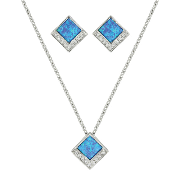 Montana Silversmiths River of Light Infinity Pool Jewelry Set - JS3643