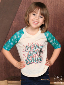 "Southern Grace ""Let Your Light Shine"" Tee - K3310"
