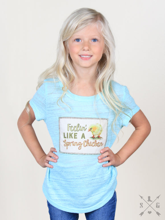 Southern Grace Spring Chicken Tee - K3509C
