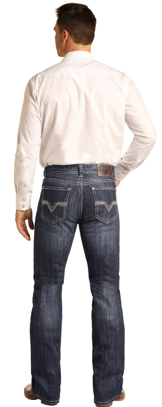 Rock and Roll Denim Double Barrel Jean - M0D3381