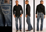 Rock & Roll Cowboy Jeans - Double Barrel - Straight Leg - M0S8553