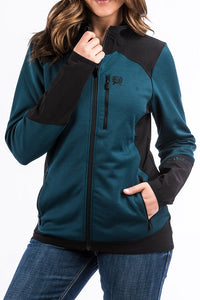 Cinch Knit Hybrid Jacket - MAJ9874001