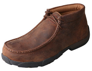 Twisted X Work Steel Toe Chukka Driving Moc - MDMSM01