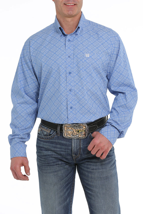 Cinch Button Down Shirt - MTW1104935