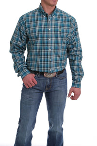 Cinch Plaid Buttondown Shirt - MTW1104972