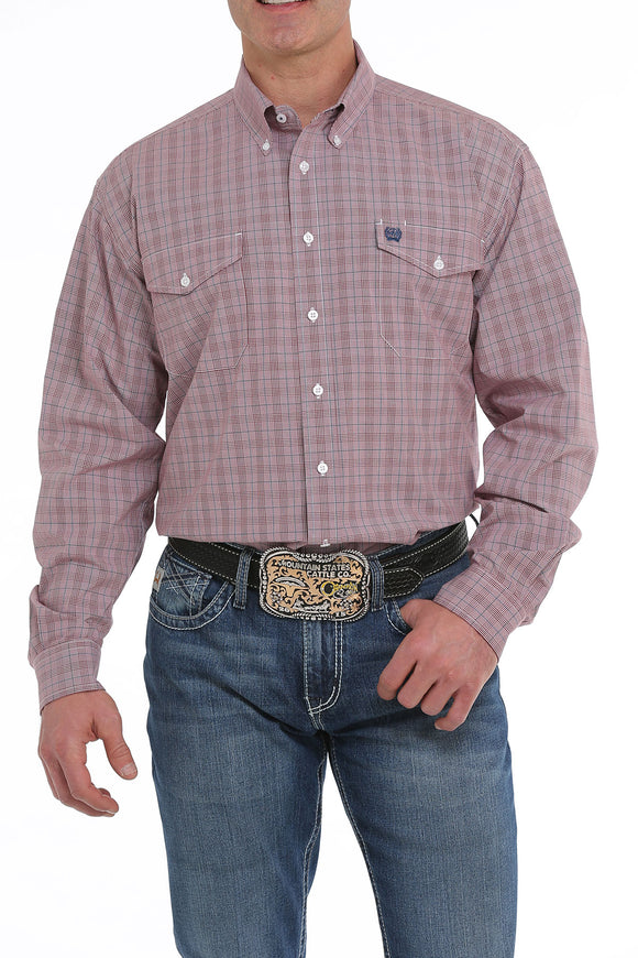 Cinch Button Down Western Shirt - MTW1107118
