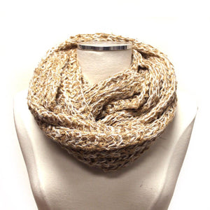 Soft Knit Infinity Scarf MW16828TN