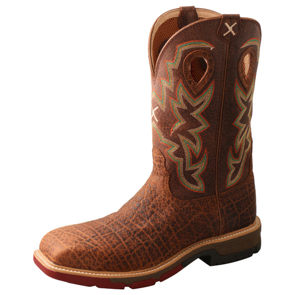 Twisted X Western Work Boot with CellStretch - MXB0004