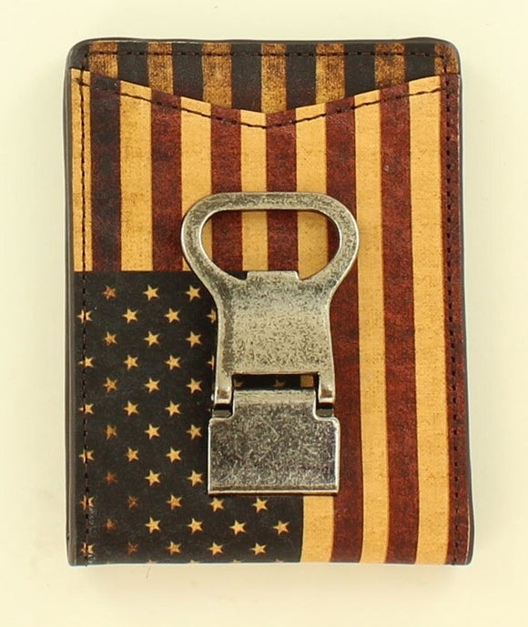 Vintage American Flag Money Clip - N5416797