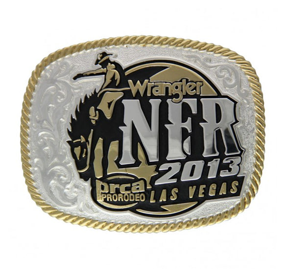 2013 WNFR Buckle by Montana Silversmiths
