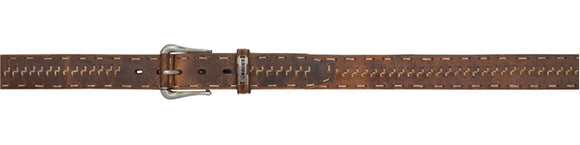 Rocky Distressed Z Stitch Belt - RB344