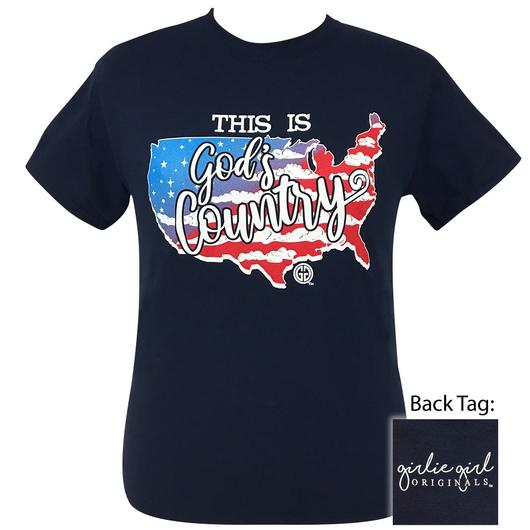 Girlie Girl Original This Is God's Country  SS-2115