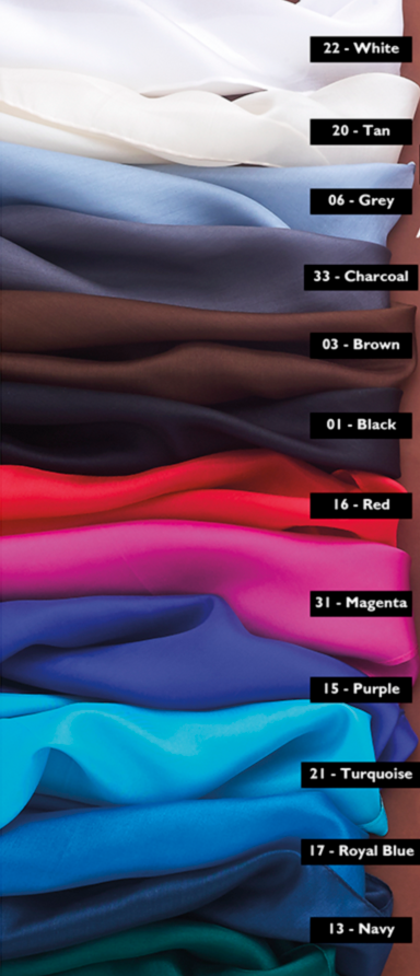 Variety of Silk Wild Rags