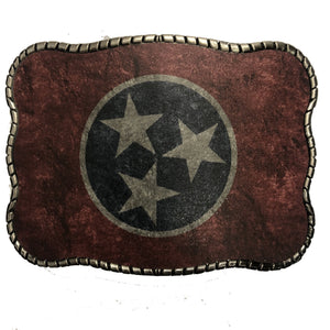 Wallet Buckle Tennessee Flag