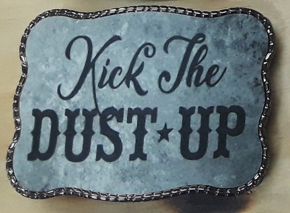 Wallet Buckle<br>Kick The Dust Up