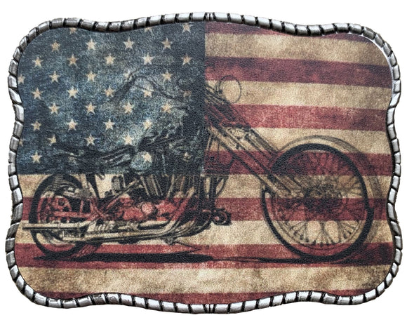 Wallet Buckle Motorcycle Flag