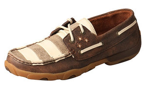 Twisted X VFW Boat Shoe Driving Moc - WDM0109