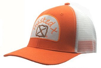 Twisted X Cap - Orange/White XC-29