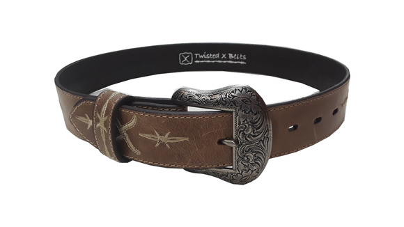 Twisted X Belt - Natural - XRB
